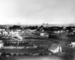 Butler, Fred B: Overlooking New Plymouth