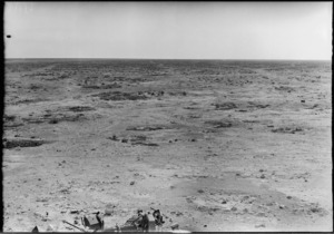 View from the top of Sidi Rezegh escarpment looking towards Point 175 - Photograph taken by W Timmins