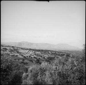 View of Bramia and Cape Drapane from Episcopi, Crete - Photograph taken by C R Mentiplay