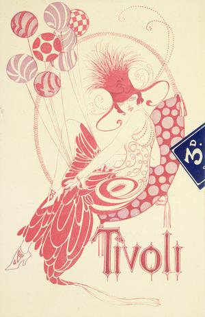 Tivoli [Theatre, Wellington] :[Programme cover, 1924].