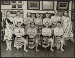 Photo of haka group