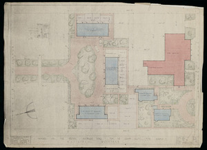 Mitchell & Mitchell and Partners :Proposed new fire station, Waterloo Road,for the Lower Hutt Fire Board. Residential quarters. 22nd February 1949