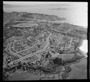 Aerial view of Glen Innes, Auckland, New Zealand