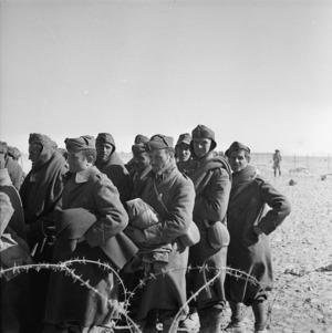 World War II Italian prisoners of war, Western Desert, Egypt