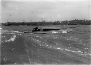 The boat Billy Richardson during the Auckland Regatta