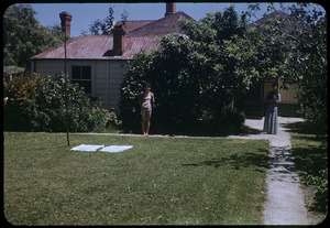 Unidentified house and garden, Auckland