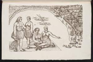 [Gilsemans, Isaac] fl 1637-1645 :Is de Placts dade ouze boots liggen om watde te harlen ... [Tongatapu] 23 January 1643.