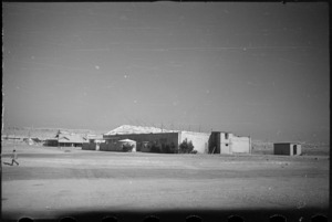 Pall Mall Theatre, Maadi Camp, Egypt, World War II - Photograph taken by George Bull