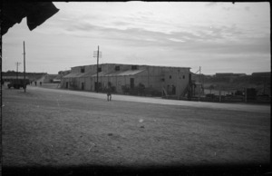 Shafto's Theatre, Maadi Camp, Egypt, World War II - Photograph taken by George Bull