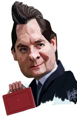 Webb, Murray, 1947- :George Osborne. 24 March 2012