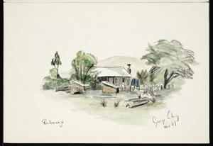 Eiby, George Allison, 1918-1992 :[House at] Reikorangi. George Eiby. Nov '69