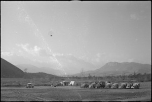 An area of the Volturno Valley where units of 2 NZ Division camped, Italy, World War II - Photograph taken by George Kaye