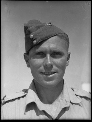 Corporal J A Glover, MM - Photograph taken by G Bull