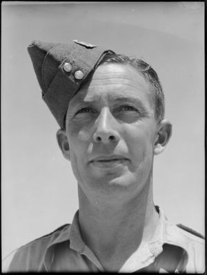 Sergeant S Harbison, MM - Photograph taken by G Bull