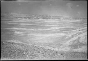View of desert near Maadi taken from the Tura Hills, Egypt - Photograph taken by N Barker