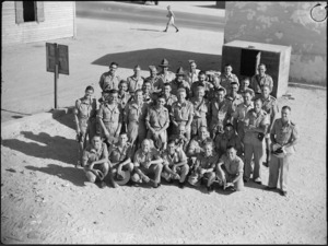 Soldiers from Levin and District hold reunion in Cairo, World War II - Photograph taken by G Bull