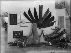 Display at Occupational Therapy Wing of 2 NZGH Kantara, Egypt - Photograph taken by George Kaye