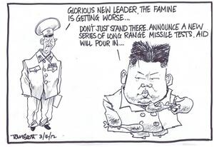 Scott, Thomas, 1947- :'Glorious New Leader, the famine is getting worse'. 30 March 2012