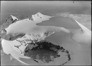 Crater of Mt Ruapehu