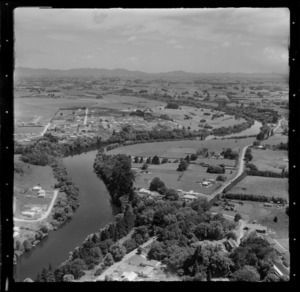 Hamilton, showing Waikato River