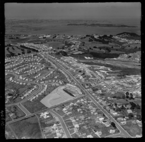 Mt Roskill, Auckland, includes school, sports grounds, housing and roads