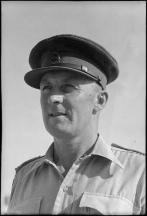Lieutenant Colonel C L Walters - Photograph taken by George Bull