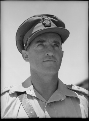 Brigadier R W Harding, DSO, MM - Photograph taken by George Bull