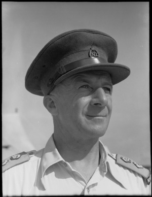 Lieutenant Colonel W B Fisher - Photograph taken by George Bull