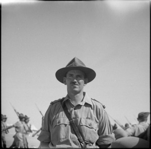 Lieutenant Colonel A E Lambourne, DSO - Photograph taken by George Bull