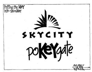 Winter, Mark 1958- :Skycity poKEYgate - putting the KEY into shonKEY. 21 April 2012