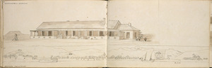 [Ashworth, Edward] 1814-1896 :Government House, New Zealand [1844?]