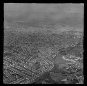 Mt Roskill, Auckland, includes roads and housing
