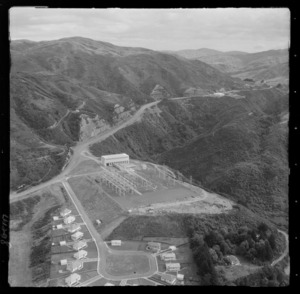 Transformer Station with Electricity Department workers' accommodation, Haywards Hill Road, Hutt Valley, Wellington Region