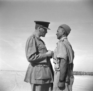 General Auchinleck and Charles Upham VC