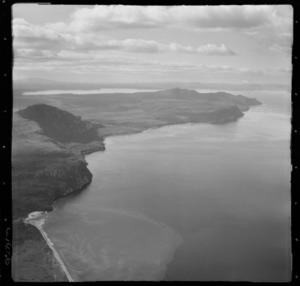 Kuratau Stream, Taupo, Waikato, includes Western Shores in the background