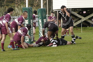 Photographs relating to West Coast Rugby League 2005 Final