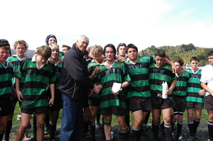 Photographs relating to West Coast Rugby Union tournaments