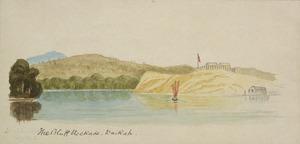 Hamley, Joseph Osbertus 1820-1911 :The Bluff Stockade, Waikato [1864]