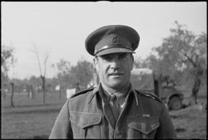 Lieutenant Colonel Owen Bracegirdle - Photograph taken by George Kaye