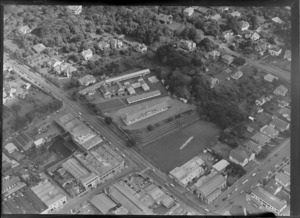 Newmarket School, Auckland, includes school, housing and industrial buildings