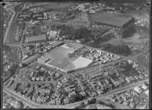 Hamilton, includes Henderson and Pollard timber manufacturing plant, sports grounds and housing