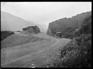 Rimutaka Road, showing improvements, circa 1924.