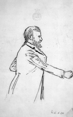 Caricature of Richard John Seddon