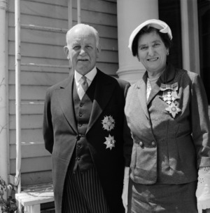The Governor-General, Sir Willoughby Norrie, and Dame Hilda Ross