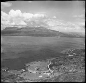 Lake Tarawera and Mount Tarawera