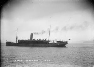 Dickie, John, 1869-1942: SS HMNZT Tahiti