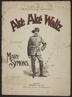 Aké Aké waltz / composed by Mary Symons.