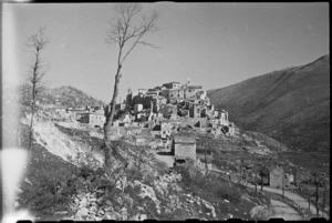 Italian village of Aquafondata - Photograph taken by George Bull