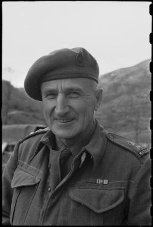Lieutenant Colonel John Nesbit Anderson, DSO - Photograph taken by George Bull