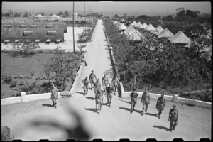 General view of 1 NZ Convalescent Depot area at Santo Spirito, Italy, World War II - Photograph taken by George Bull